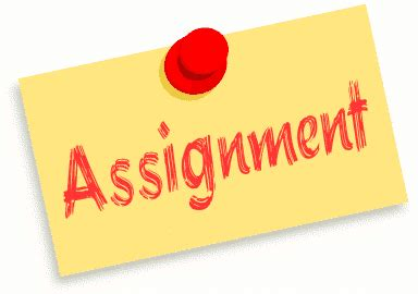 Essay on completing assignments